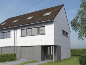 Nieuw te bouwen energie zuinige hedendaagse woning in het rustige Elsegem op een bouwgrond van 5 are 80