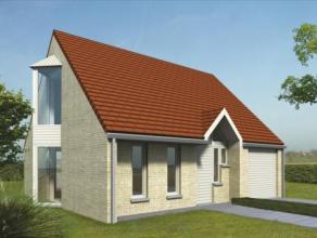 Nieuw te bouwen energie zuinige woning op een bouwgrond van ongeveer 5 are.