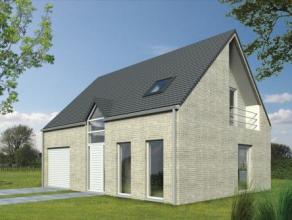 Nieuw te bouwen energiezuinige woning op een rustig gelegen bouwgrond van 7 are 80.
