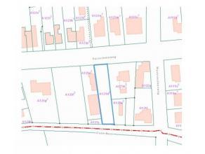 Bouwgrond appartementsgebouw te Bonheiden Stedenbouwkundige vergunning ontvangen voor het bouwen van 3 appartementen en 3 carports met tuinberging. De
