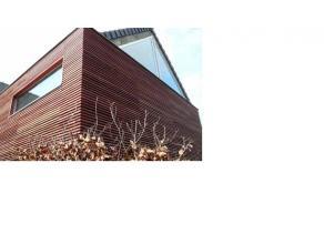 Nieuw te bouwen halfopen bebouwing nabij de Leie. Richtprijs voor wind- en waterdichte woning (exclusief aankoopkosten, registratie en BTW). Binnenafw