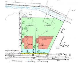 Lot 2 uit een goedgekeurde verkaveling. Betreft een goed gelegen perceel bouwgrond van 14a58ca. Verschillende bouwstijlen zijn mogelijk. Verkavelingsv