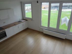 .Prachtig gerenoveerd appartement (ca.45m²) op de eerste verdieping. Ruime en lichte living aan Park Spoor Noord. Aansluitend open ingerichte keu
