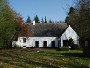 Prachtige VILLA met tuin en heide, gelegen te Brugge (Sint-Andries), Diksmuidse Heerweg, 647, in rustige omgeving. Unieke ligging in het bos van de Si