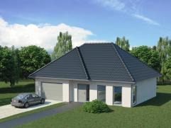 """TE KOOP DE PINTE """"Den Beer"""" : Perceel bouwgrond voor open bebouwing. Lot 2 is 3102 m2. Prijs bouwgrond 295000 euro. Model woning en afwerking naar keu"""