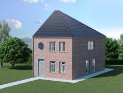 NU AL TE RESERVEREN: Knap lot bouwgrond in de Stichelendries voor een mooie halfopen bebouwing op een totale grondopp van 515m²!! Prijs van lot 4