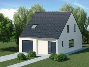 OLSENE - Herdersstraat 35 - lot 1 <br /> <br /> Mooi gelegen stuk bouwgrond voor het bouwen van een halfopen bebouwing in Olsene. <br /> Opp. 671 m&su