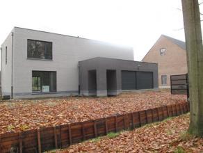 Gloednieuwe, moderne nieuwbouwvilla (oplevering jan.2016), residentieel gelegen doch centraal en rustig. OP ONZE SITE vindt u tevens een tweede nieuwb