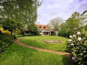 Landelijke woning in een oase van rust en groen, met 4 slaapkamers en 2 badkamers, op een perceel van 3160m2.