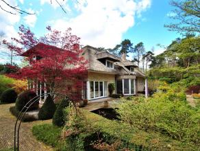 Residentieel gelegen villa te Heide - Kalmthout, met 4 slaapkamers, 2 badkamers, inpandige garage, mooi aangelegde tuin die veel privacy biedt, op een