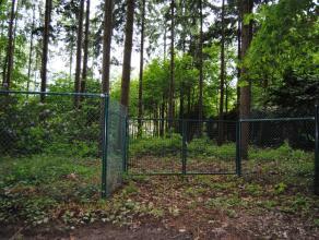 Ruim perceel bouwgrond van 1260m² in specifiek woongebied met bosrijk karakter.