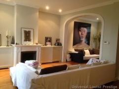 Belle villa rénovée en 2003 à Uccle, salon avec feu ouvert, grande cuisine hyper équipée, 4 chambres (21 m², 1