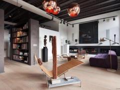 Splendide loft aux lignes contemporaines dans un ancien entrepôt réhabilité par un architecte d'intérieur il y a 6 ans dans