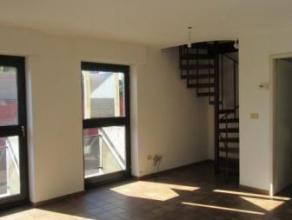 Appartement duplex situé en Centre-Ville, au 1er étage d'un immeuble et composé de: hall avec placards, WC, living, cuisine meubl