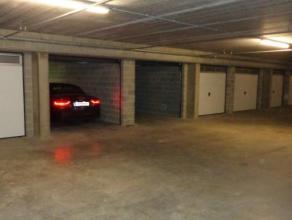"""Verhuurde boxen te koop In de ondergrondse verdieping van """"Project Withof"""" over te nemen met huurcontract. Een zeer ruime garagebox van ca. 21m²"""