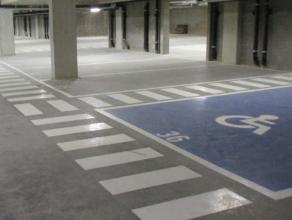 AG VESPA verhuurt 14 ondergrondse autostaanplaatsen (nr. 31 t.e.m. 51), gelegen in een ondergrondse parking te 2018 Antwerpen, Van Luppenstraat 44A. E