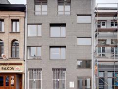 AG VESPA realiseerde een energiezuinig nieuwbouwappartement aan het Falconplein 9 in centrum Antwerpen. Het gelijkvloers appartement is verkocht. Het