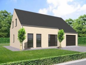 Nieuwbouwproject voor een open bebouwing met het model SOLARA Goed gelegen bouwgrond nabij centrum van Bekkerzeel, landelijk en rustig. Mooie moderne
