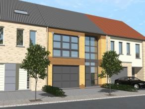 """""""HOB OF 3 Façade Model  COSY (6,5x13,6)  OP +/- 1539 M2 TE GERAARDSBERGEN Halfopen bebouwing met een grondoppervlakte van 1539 m2 en een woning"""