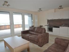 Splendide appartement neuf entirement meubl compos comme suit: hall d'entre, sjour, cuisine quipe, vaste terrasse avec trs belle vue, chambre, salle d