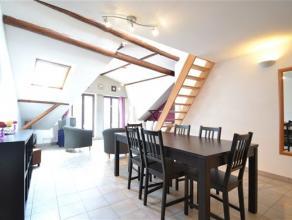 A louer, très bel appartement 1 chambre meublé composé comme suit: hall, séjour, cuisine équipée, mezzanine,