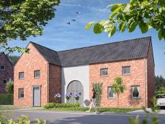 Woning + bouwgrond vanaf euro 1.035,00 per maand - Hypotheek op 30 jaar - euro 20.000,- eigen inbreng - na aftrek woonbonus Woning nummer 7 op een per