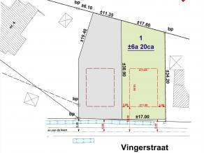 Rustig gelegen perceel bouwgrond voor open bebouwing. Op wandelafstand van de Vaart. Ideaal voor natuur- en sportliefhebbers. Oppervlakte: 6a 22ca. Lo