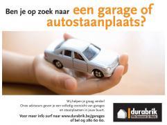 Autostaanplaatsen te koop van residenties Carpe Diem gebouwd door Durabrik.   Voor ons volledig aanbod bezoek http://www.durabrik.be/garages of vraa