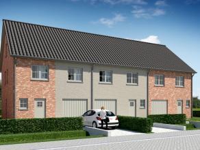 Lot 30 is een gesloten bebouwing in klassieke stijl op een grondopp. van 181 m².<br /> <br /> Gelijkvloers (70 m²): inkom, wc, ruime living