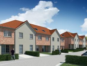 Lot 22 is een gesloten bebouwing op een grondopp. van 170 m².<br /> <br /> Gelijkvloers (61,65 m²): inkom, wc, ruime living met open keuken