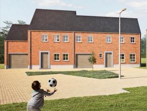 Le lot 24 est une maison neuve, de 2 façades, d'architecture classique, facile à vivre. La superficie est de 170 m² sur une surface