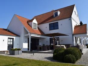 PURE EXCLUSIVITEIT qua SCHOONHEID & COMFORT : schitterende nieuwbouwvilla (2009) met DUBBELE GARAGE en paardenstallingen + loods op 2200m²gro
