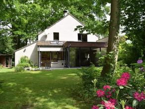 RESIDENTIELE 4-slaapkamervilla met ZUIDGERICHTE TUIN (inclusief carport) op een totale grondopp. van 1320m². Het interieur sluit perfect aan met