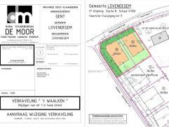 Verkaveling 't Waalken, in groene residentiële omgeving Dit uniek zuid-georiënteerd perceel van 860m² voor open bebouwing is gelegen na