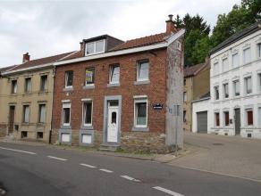 DISON, charmante maison d'habitation unifamiliale composée de : au sous-sol, 3 caves; au rez-de-chaussée, hall d'entrée, s&eacute