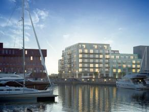 Penthouse appartement met frontaal zicht op het water en binnentuin met 71 m² terrassen aan voor en achterkant. KAAI 37 staat gelijk aan duurzaam
