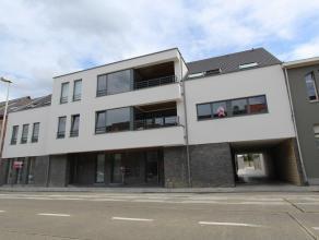 Het appartement op de eerste verdieping busnr.103 heeft een oppervlakte van 106,21 m² en een zuidgericht terras van 32,02 m².  Het appartem
