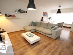 Prachtig gerenoveerd appartement met leuke tuin en 2 ruime slaapkamers.  Dit gelijkvloersappartement is recent (2014) volledig gerenoveerd met veel