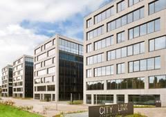 Dit prestigieuze kantoorproject, genaamd Citylink, bestaat uit 4 ultra-moderne kantoorgebouwen die perfect in de omgeving passen. Dit complex situeert