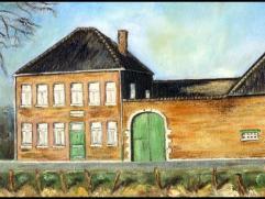 Hoeve & herberg  Jagersborg  (anno 1849) bestaat uit een boerenburgerhuis in neoclassicistische stijl en een gesloten erf met rondom gelegen diens