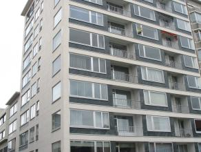 Gemeubeld appartement in centrum van de stad.  Inkomhal, afzonderlijk toilet, leefruimte op parket met prachtig zicht op de drie fonteinen, volledig