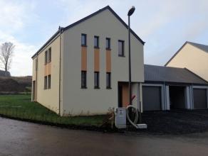 A la sortie de Frassem, venez découvrir cette habitation neuve. Elle est entièrement terminée et vous offre un grand living salon