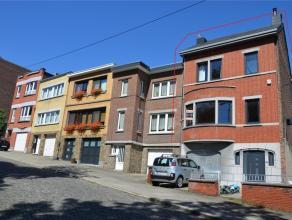 4000 Liège - Rue du Calvaire, 184. Sur les Hauteurs de Saint Laurent, spacieuse maison 3 façades offrant 5 chambres à coucher. Co
