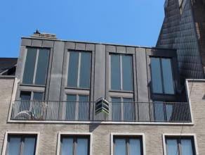 Ruim triplex-appartement (195m²) met een ruime leefruimte, open keuken en eetruimte,3 slaapkamers waarvan 1 met douche, dressing, badkamer met li
