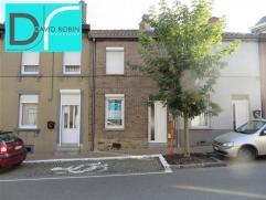 FLEURUS - Rue Emile Vandervelde 260 : Maison deux façades située au coeur de la ville, en très bon état géné