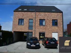 BONCELLES - Très bel appartement deux chambres idéalement situé à Boncelles. Il se compose d'une entrée (1,5 m&sup2