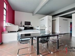 Merveilleux loft ultra moderne de 160m² au rez-de-chaussée, en excellent état, complètement ouvert. Compteurs individuels. I