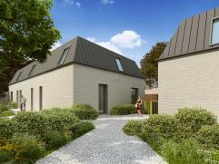 """Deze ruime en praktische eengezinswoning met Lage Energiecertificaat bevindt zich achter het hoofdgebouw van de toekomstige residentie """"Belle Epoque"""""""