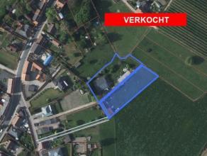 2 percelen landbouwgrond voor totaal oppervlakte van 49 are 90 ca  met recht van doorgang via Kapelstraat nr 5. (5 meter breed).Op perceel 76/E bevind
