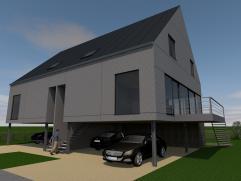 Cette nouvelle construction consiste de : hall d'entree, toilet apart, salon et salle à manger, cuisine, grande remise. La maison consiste des